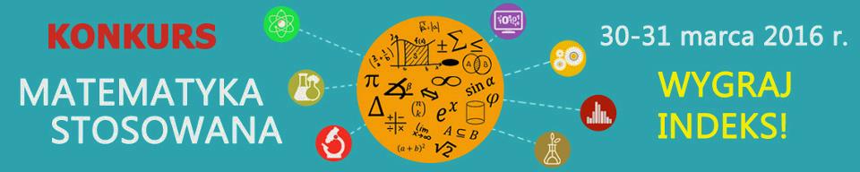 SIGNUM - Konkurs ,,Matematyka stosowana''