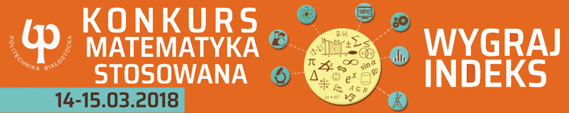 SIGNUM - Konkurs ,,Matematyka stosowana' 2017/18